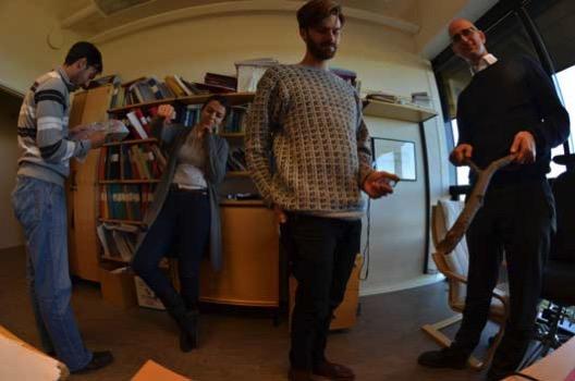 Дел од тимот во Стокхолм кој стои позади ова откритие: Раман Аманулах, Тања Петрушевска, Јоел Јохансон и професор Ариел Губар.